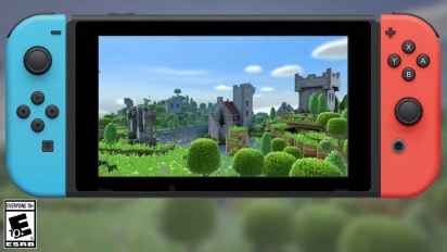 Portal Knights - Official Nintendo Switch Release Date Trailer