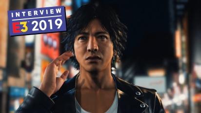 Judgment - Interview mit Kazuki Hosokawa