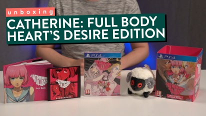 Catherine: Full Body - Unboxing der Heart's Desire Premium Edition