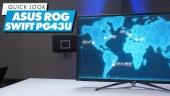 Asus ROG Swift PG43UQ: Quick Look