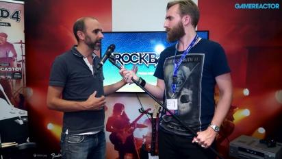 Rock Band 4 - Launch Interview Daniel Sussman