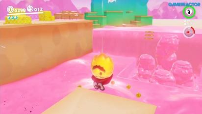 Super Mario Odyssey - Gameplay vom Luncheon-Königreich - Teil 1