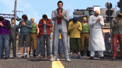Yakuza 6: Song of Life - Clan Creator Minigame Trailer