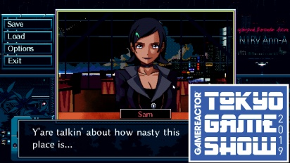 N1RV ANN-A: Cyberpunk Bartender Action - TGS-Gameplay