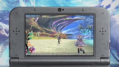 Xenoblade Chronicles 3D - Entfessel die Macht-Trailer (Deutsch)