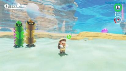 Super Mario Odyssey - Gameplay vom Seaside-Königreich - Teil 1