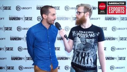 Rainbow Six Pro League Season 3-Finale - Interview mit François-Xavier Dénièle