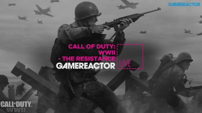 Call of Duty: WWII - The Resistance - Livestream-Wiederholung