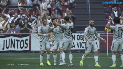 Pro Evolution Soccer 2019 - Full Match Real Madrid vs Juventus