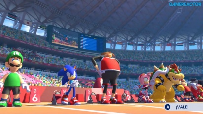Mario & Sonic bei den Olympischen Spielen Tokyo 2020 - 110 Meter Hürdenlauf (Gameplay)
