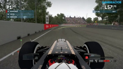 F1 2013 - Canadian Grand Prix - Gameplay
