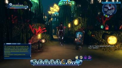 DC Universe Online für Nintendo Switch - Gameplay mit Entwicklerkommentar