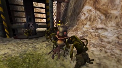 Oddworld : Munch's Oddysee - Release Date Trailer