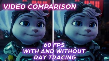 Ratchet & Clank: Rift Apart - Grafikvergleich Performance-Modus vs. Performance-Modus mit Raytracing
