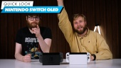 Nintendo Switch OLED: Quick Look