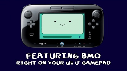 Adventure Time: Explore the Dungeon Because I Don't Know - Wii U Trailer