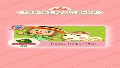 Animal Crossing: Pocket Camp - Pocket Camp Club Information