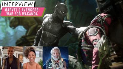 Marvel's Avengers - War-for-Wakanda-Interview mit Debra Wilson, Erica Luttrell und Dave Fennoy