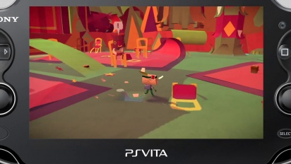 Tearaway - Gamescom 2013 Trailer