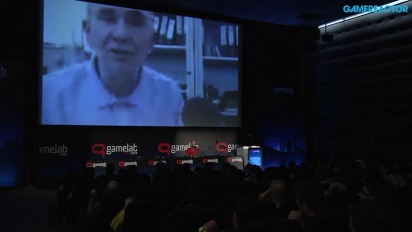Peter Molyneux - Präsentation, Q&A und Studio-Tour von 22Cans