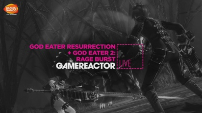 God Eater: Resurrection & God Eater 2: Rage Burst - Livestream-Replay