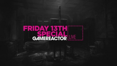 FRIDAY THE 13TH SPECIAL - LIVESTREAM REPLAY