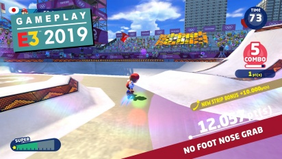 Mario & Sonic at the Olympic Games Tokyo 2020 - E3-Demo (Gameplay)