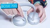 Bose 700 geräuschunterdrückende Kopfhörer: Quick Look