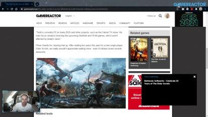 GRTV News - Bethesda: Todd Howards Beteiligung an Indiana-Jones-Projekt wirkt sich nicht auf andere Produktionen aus