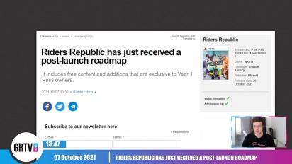 GRTV News - Roadmap listet Inhalte auf, die Riders Republic bis Herbst 2022 bekommen soll