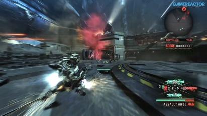Vanquish - PS4-Gameplay (Akt 1, Mission 2)