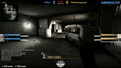 Steelseries League 2v2 - Group 41 - n00bs vs Mattokauppiaat on Short Dust