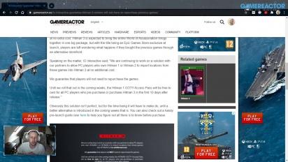 GRTV News - IO Interactive ''garantiert'', dass Hitman-3-Spieler Inhalte aus früheren Titeln der Reihe nicht doppelt kaufen müssen
