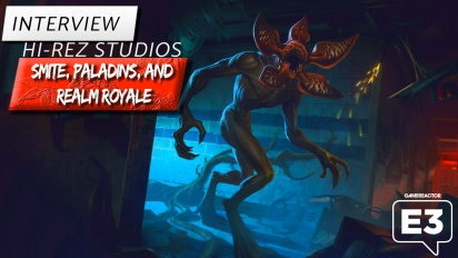 Smite, Paladins: Champions of the Realm und Realm Royale - Interview mit Alex Cantatore