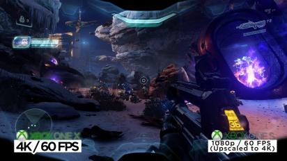 Halo 5: Guardians - 4K-Videovergleich