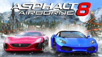 Asphalt 8: Airborne - Holiday Update Trailer