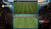 FIFA 18 vs. PES 2018 - Der Vergleich