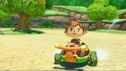 Mario Kart 8 - Zusatzinhalt: Animal Crossing Trailer (Deutsch)