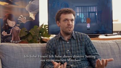 Anna's Quest - Interview Dane Krams (Deutsch)
