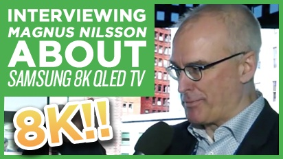 CES19: Samsung 8K QLED TV - Magnus Nilsson Interview