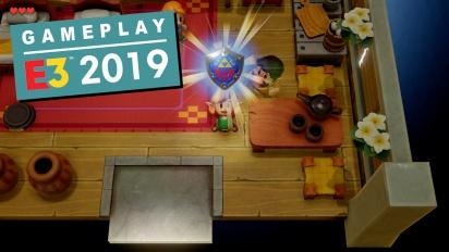 The Legend of Zelda: Link's Awakening - E3-Demo (Gameplay)