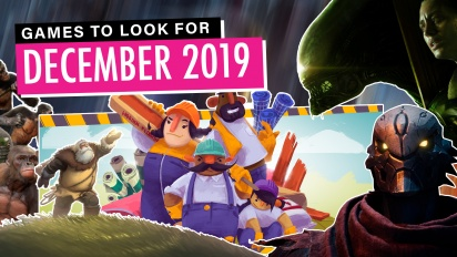 Games to Look For - Dezember 2019