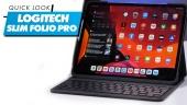 Logitech Slim Folio Pro: Quick Look
