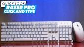 Razer Pro Click & Razer Pro Type: Quick Look