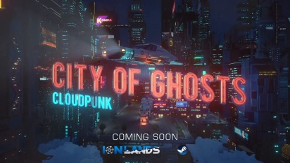 Cloudpunk - City of Ghosts Announcement