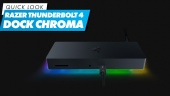 Razer Thunderbolt 4 Dock Chroma: Quick Look