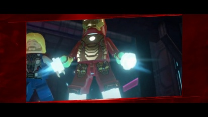 Lego Marvel Super Heroes - Universe in Peril Trailer