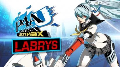 Persona 4: Arena Ultimax  - Labrys Trailer
