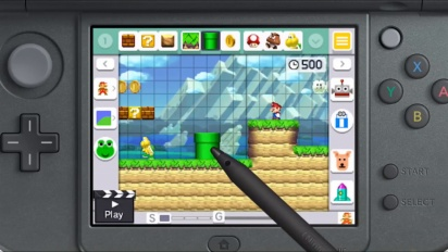 Super Mario Maker for Nintendo 3DS - Reveal Trailer