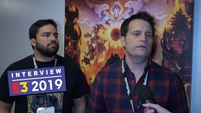 Doom Eternal - Interview mit Marty Stratton und Hugo Martin
